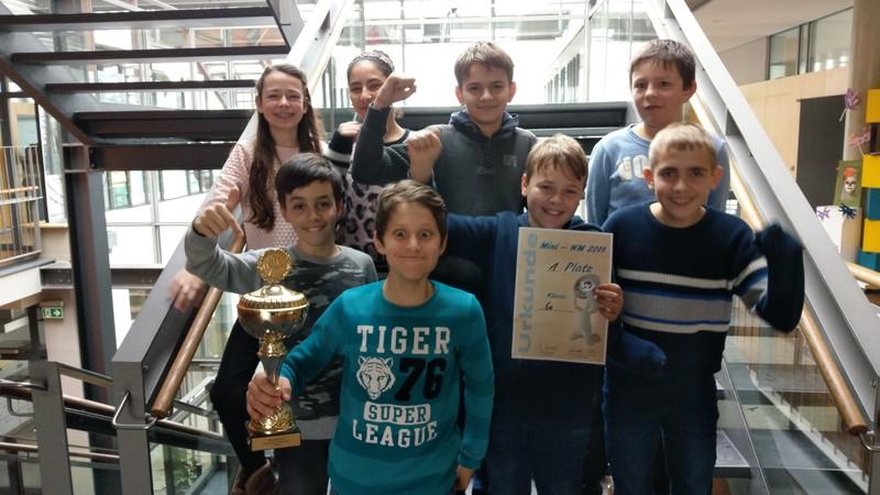 Mini-WM Sieger Klasse 6a
